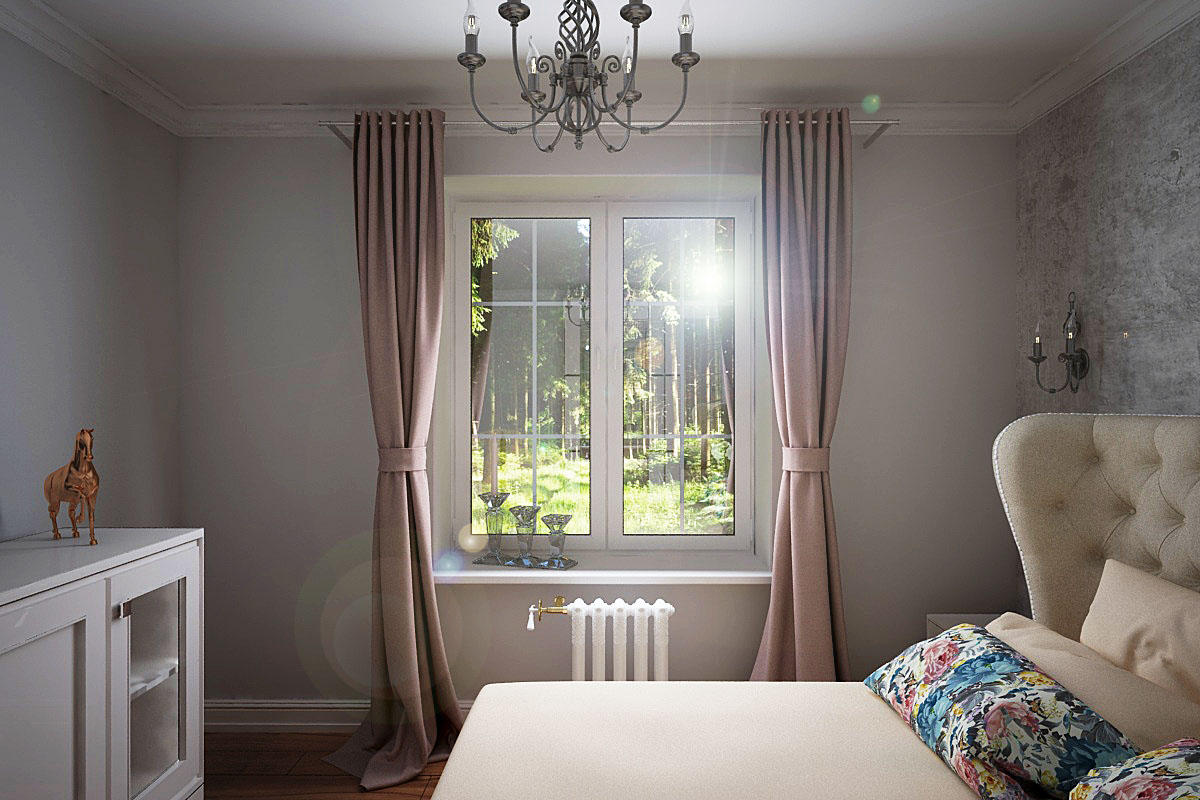 Bedroom in 3d max vray 2.5 image