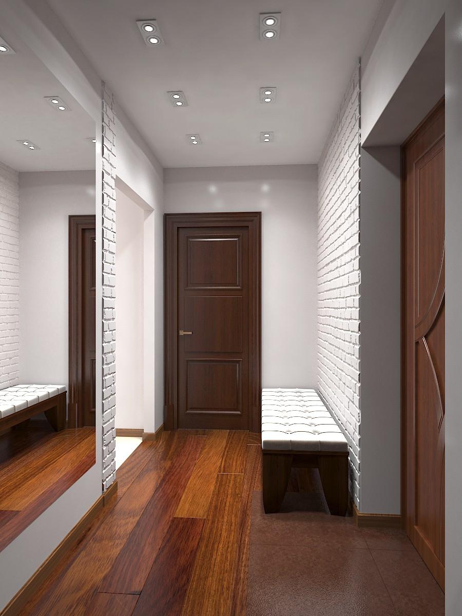 коридор в 3d max vray зображення