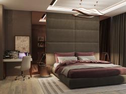होटल शैली में बेडरूम