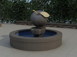 "Fountain ""Apple"""