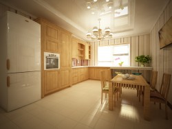 Country-house kitchen interior