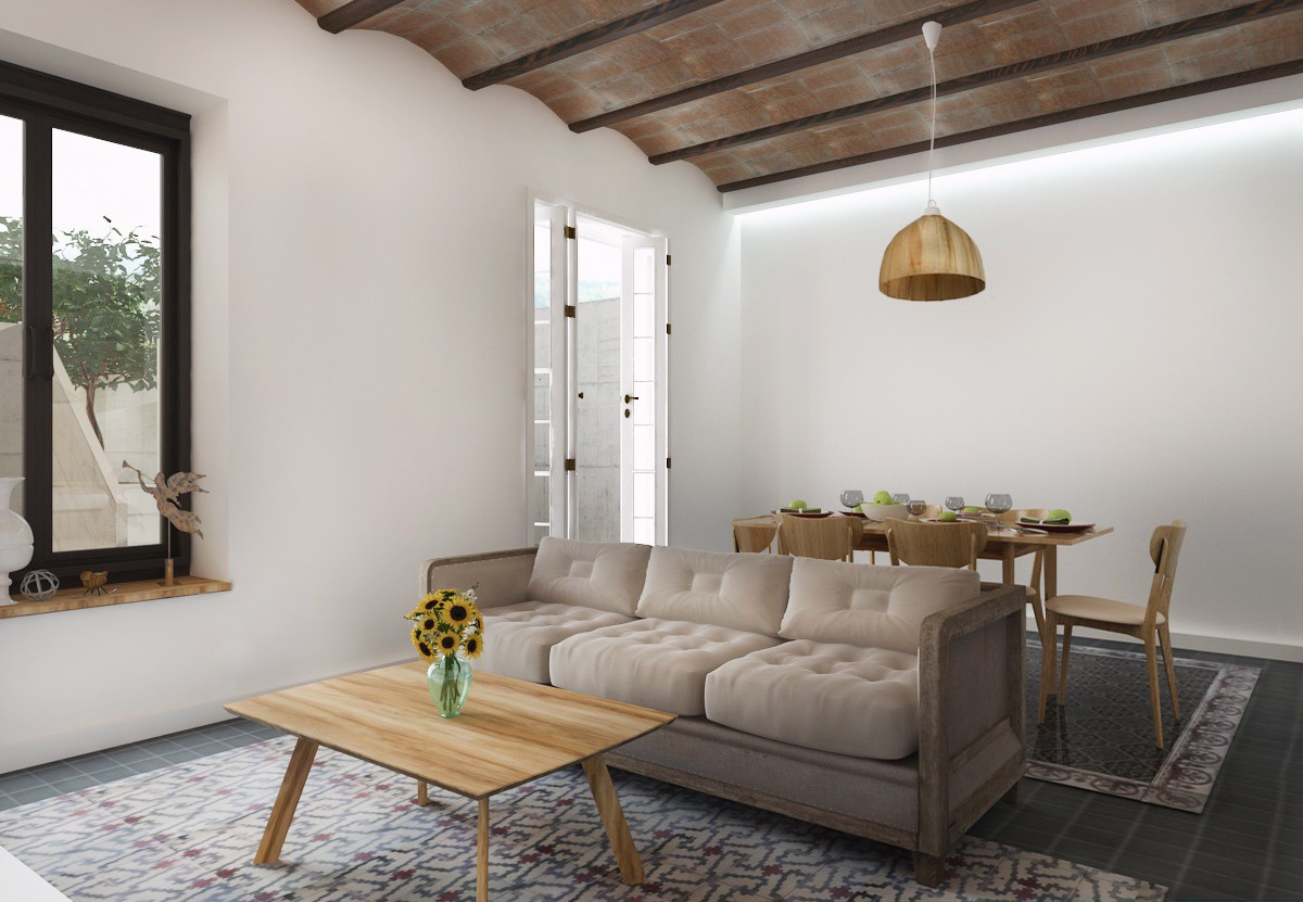 House in Spain in 3d max vray image