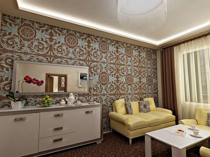 "Luxury ""Congress Hotel"" in 3d max vray image"