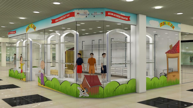 Childrens shop - Lelik and Bolek  in  Cinema 4d   Other  image