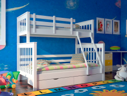 Children's 2-story bed