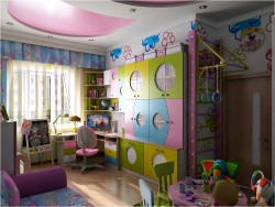 Camera interior design bambini