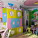 3d visualization of the project in the Children's room interior design 3d max, render vray of OLEG