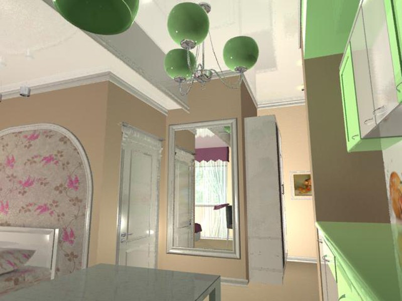 Room in 3d max mental ray image