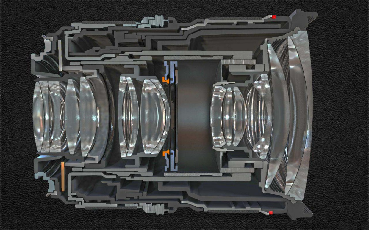 3d visualization of the project in the lenses canon Maya, render vray of Гилёв Женя