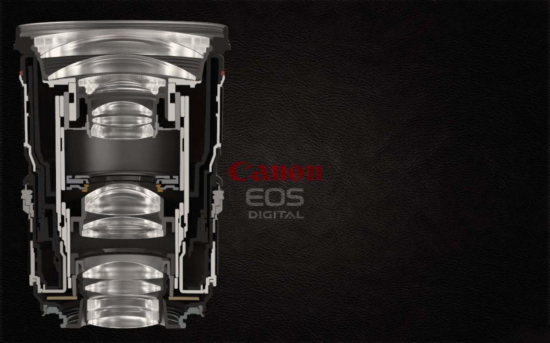 Lenses canon in Maya vray image