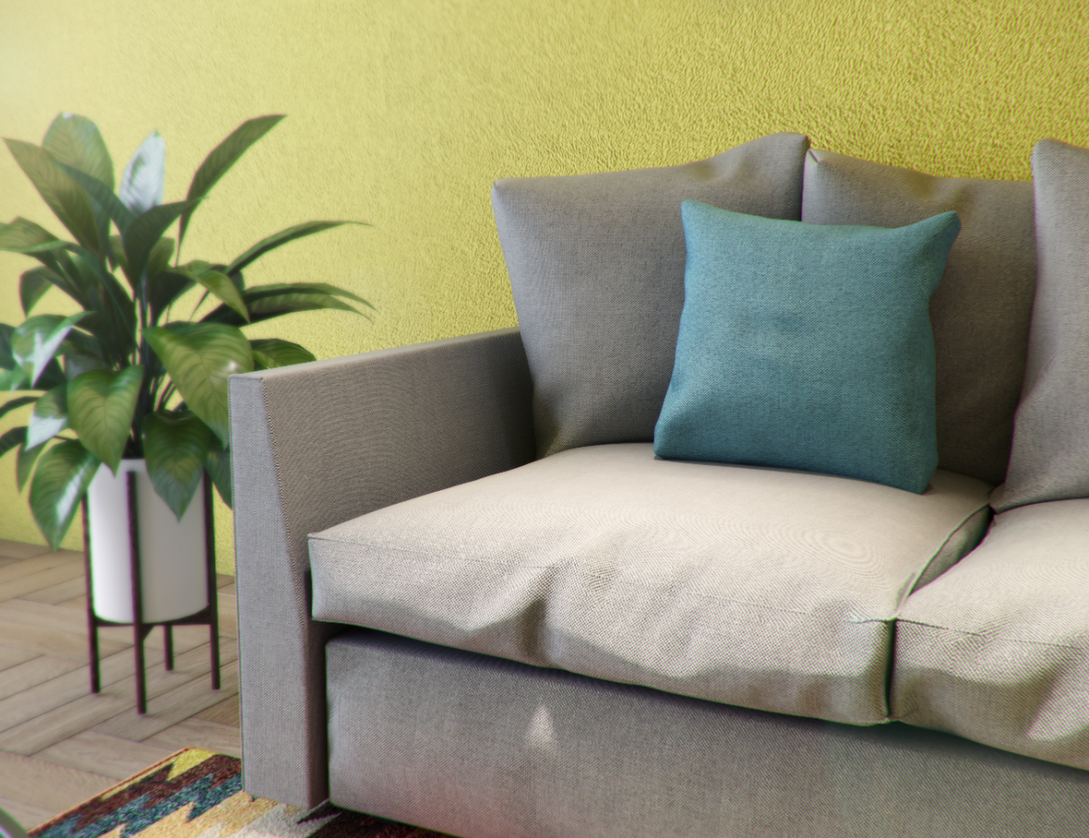 Sofa Joy in 3d max corona render image