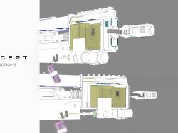armes cyberpunk