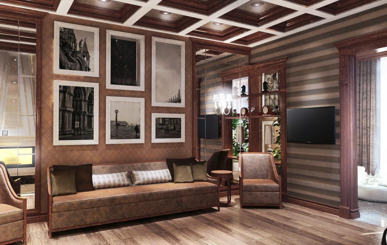 Балкон. 2 варіанти в 3d max vray зображення