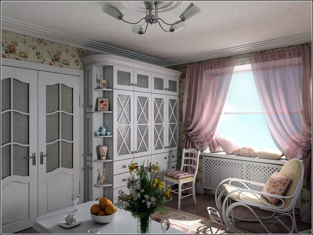 3d visualization of the project in the Provence? 3d max, render vray of OLEG