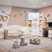 "Collection of children's furniture ""Indians"" in 3d max corona render image"