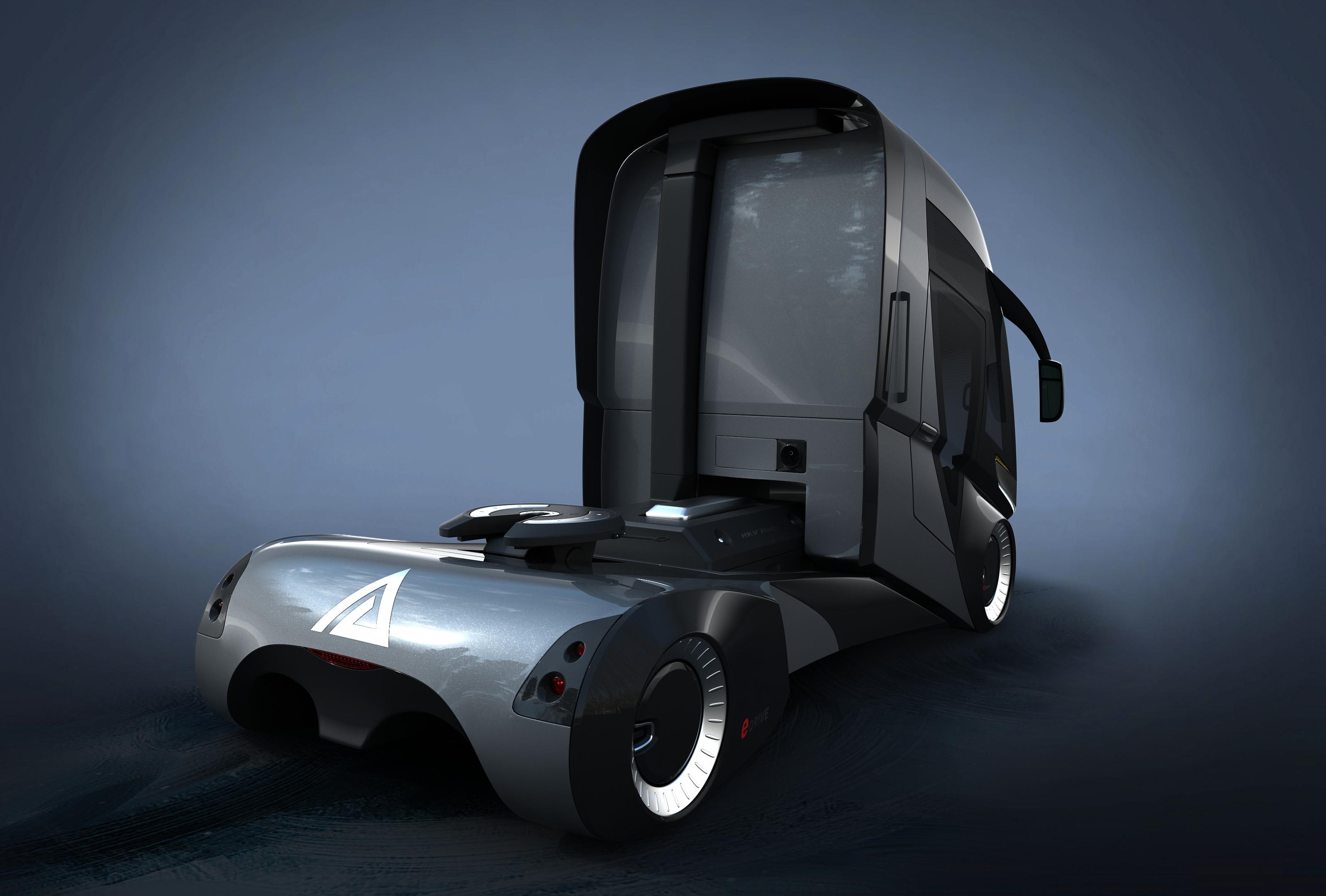 HKV Truck in 3d max vray 3.0 image
