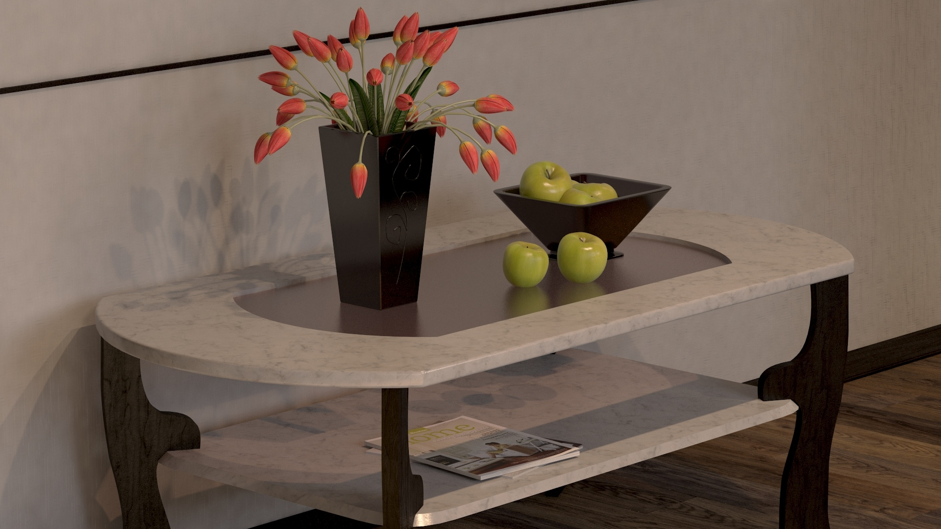 My study work final in 3d max vray 3.0 image