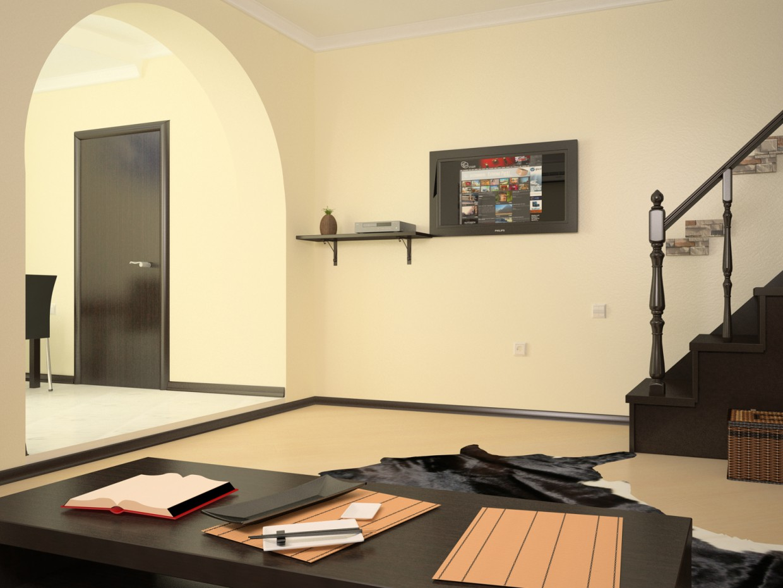 мій будинок в 3d max vray зображення