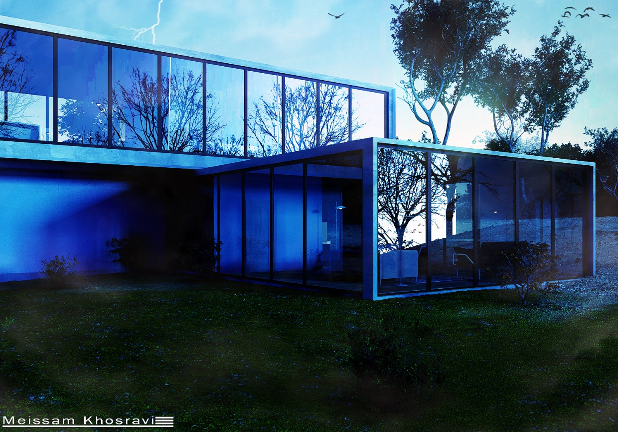 3d visualization of the project in the Meissam Khosravi 3d max, render vray of Meissam.khosravi