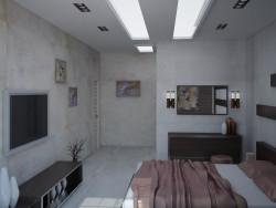 बेडरूम + हॉल