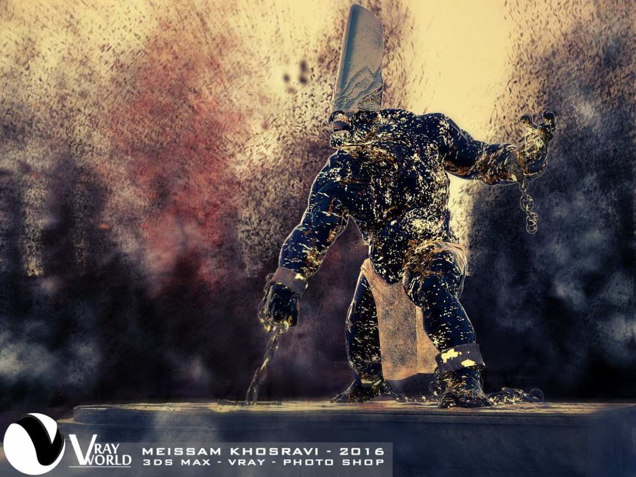Materials Testing in 3d max vray 3.0 image