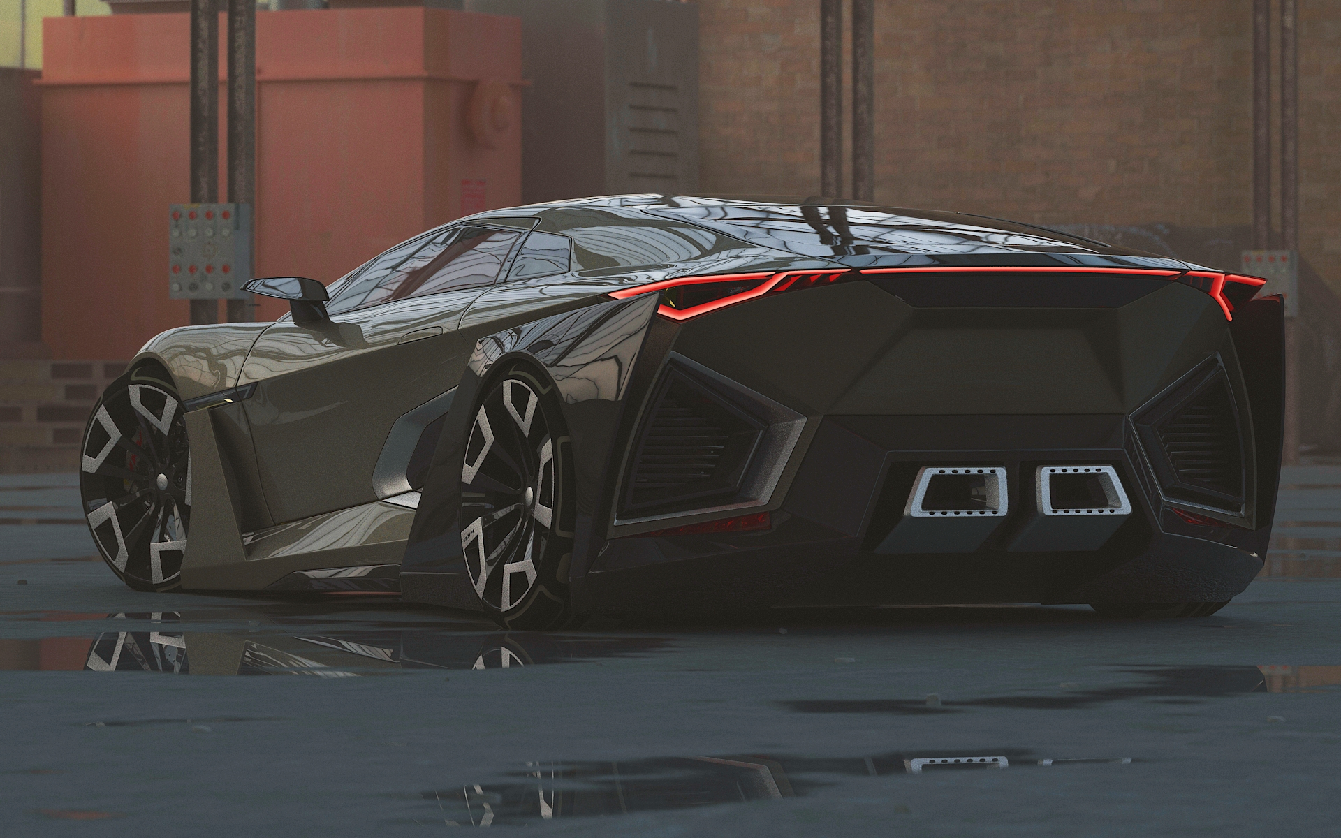 HKV Coupe in 3d max vray 3.0 image