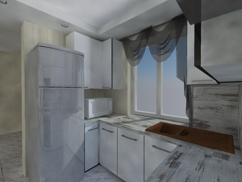 cuisine dans 3d max vray image