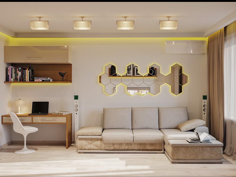 Room + Kitchen (Borispol) in 3d max corona render image