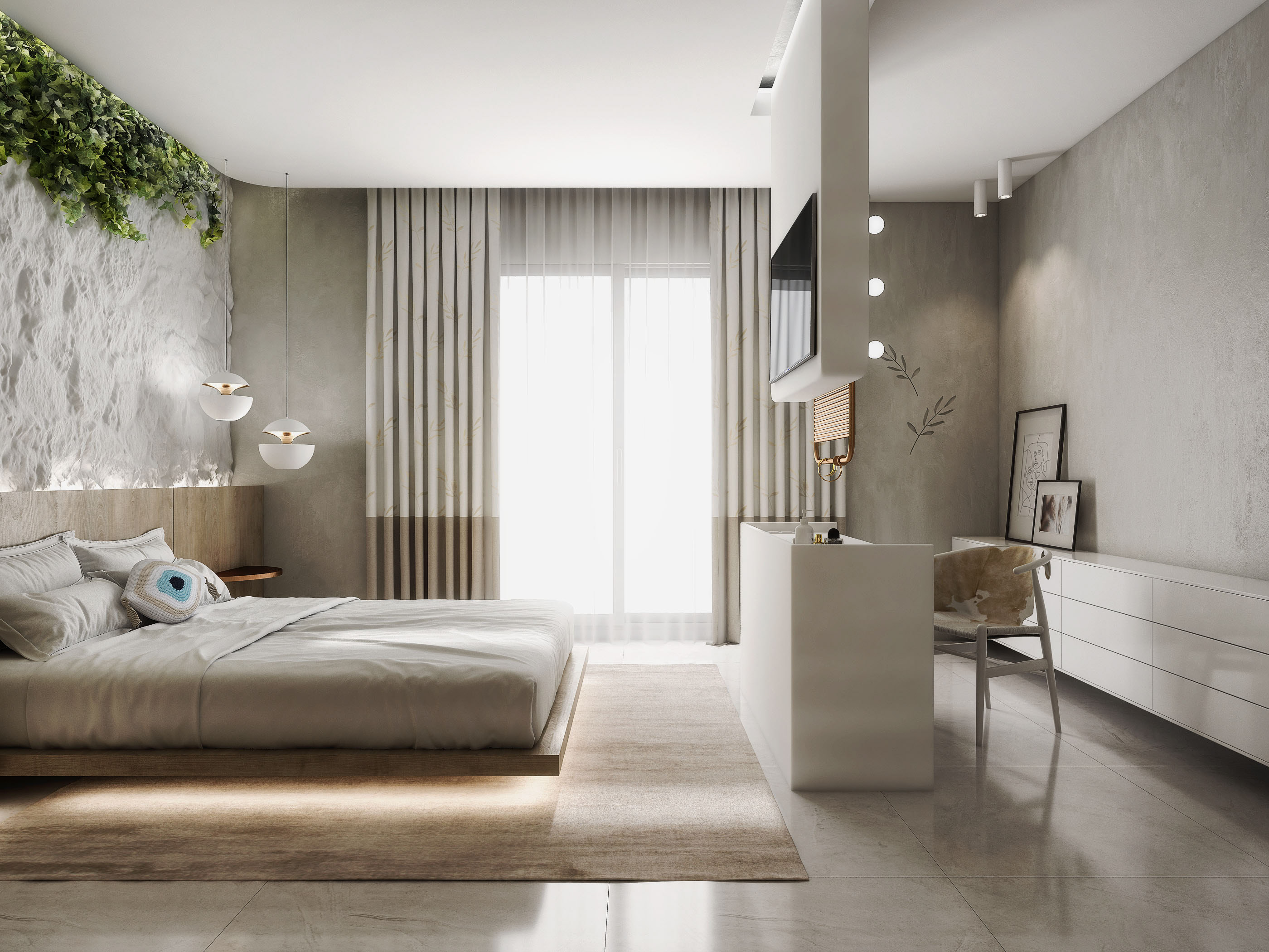Apartment in Rhodes, Greece in 3d max vray 3.0 image