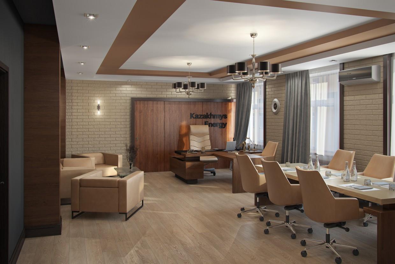 кабінет керівника в 3d max vray зображення