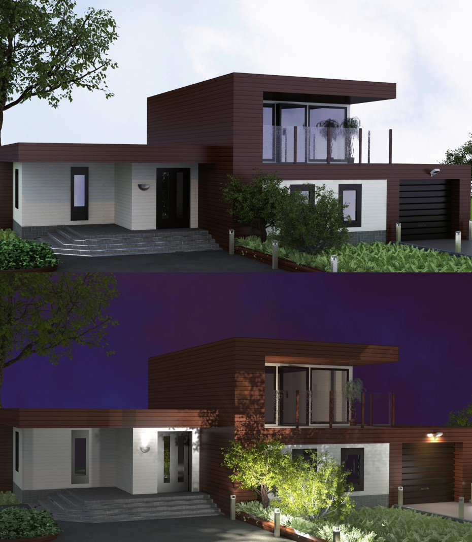 Haus by_TRS in 3d max vray 2.5 Bild