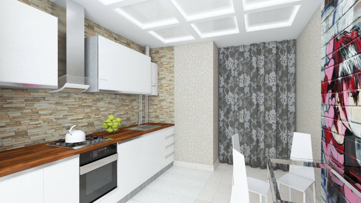 KITCHEN  in  3d max   vray  image