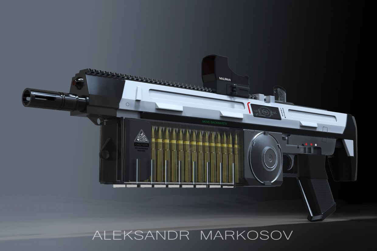 weapon future in 3d max Other image