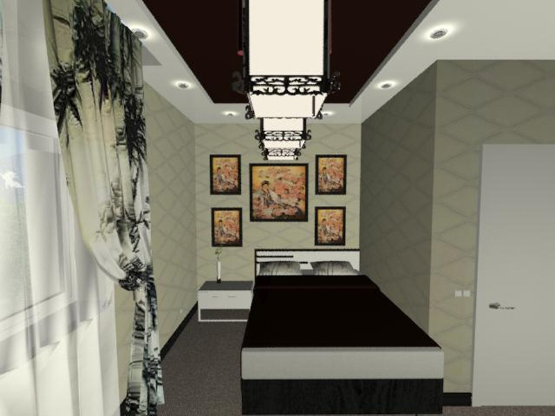 Room no. 3 - Chinese style in 3d max mental ray image