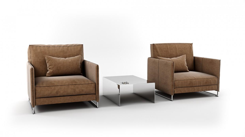 कुर्सी 3d max vray 3.0 में प्रस्तुत छवि