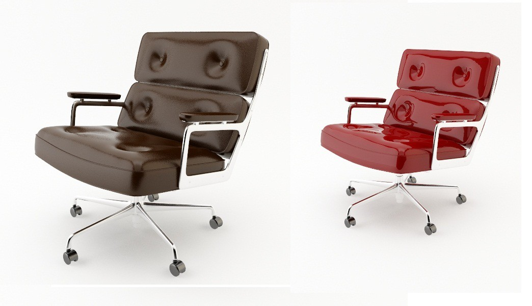Armchair  in  3d max   vray  image