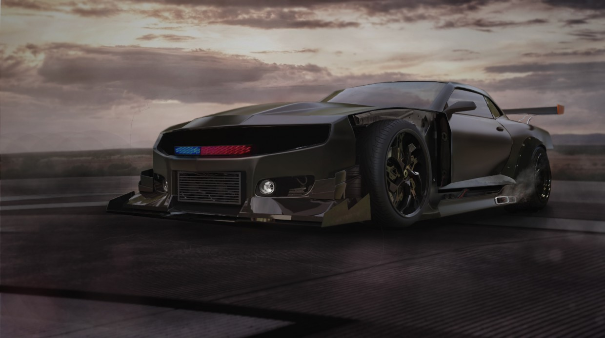 Chevrolet in 3d max Other image