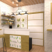 Magreen Cafe in 3d max corona render immagine