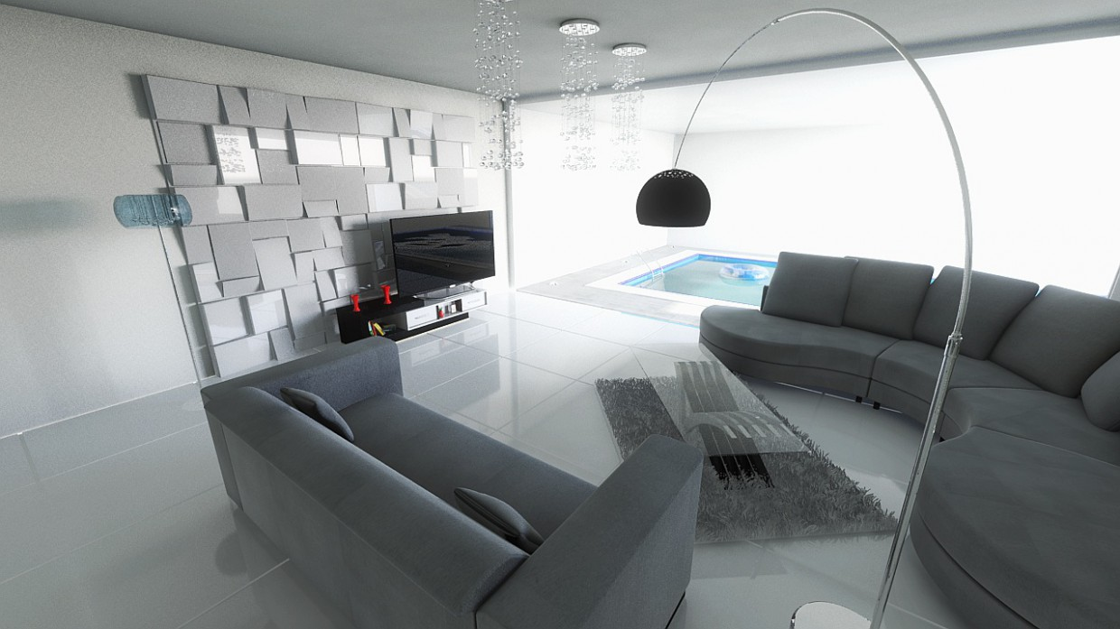 Mezz in 3d max mental ray image
