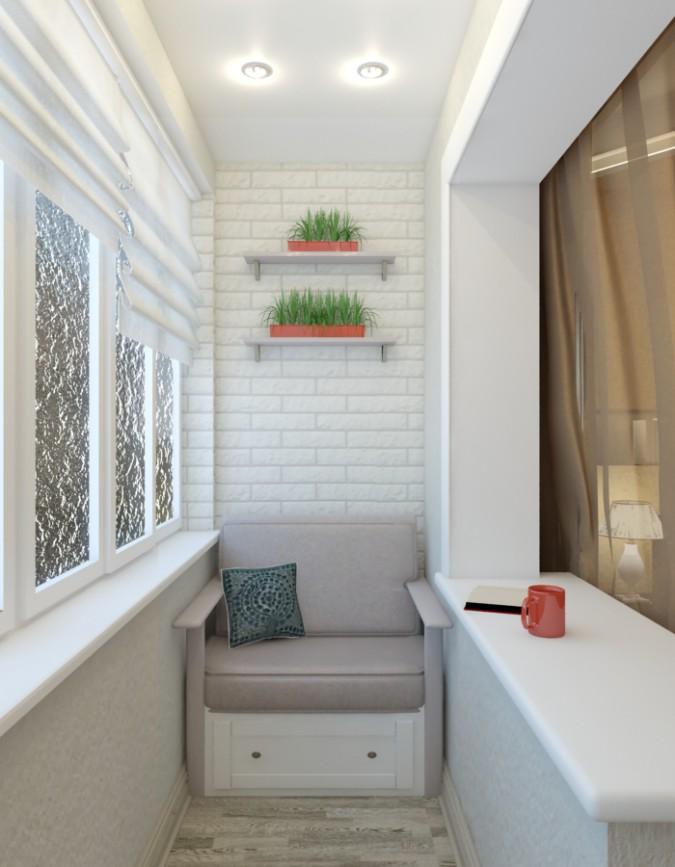 balcony in 3d max vray image