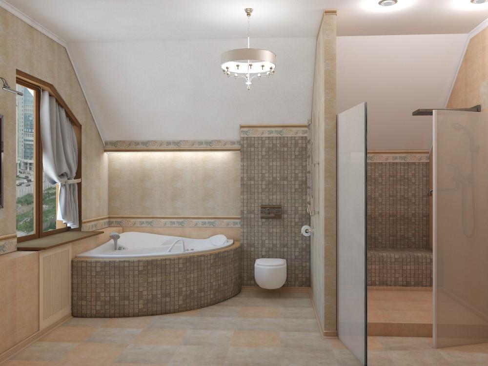 imagen de Baño Sartakova en 3d max vray