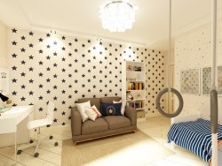 Starry children's room