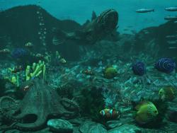 पानी के नीचे दुनिया