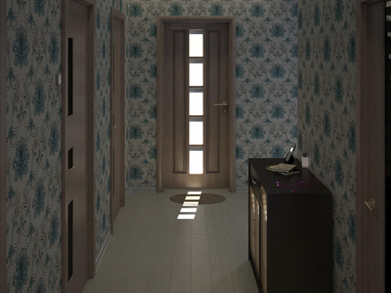 imagen de Mi pasillo en 3d max vray
