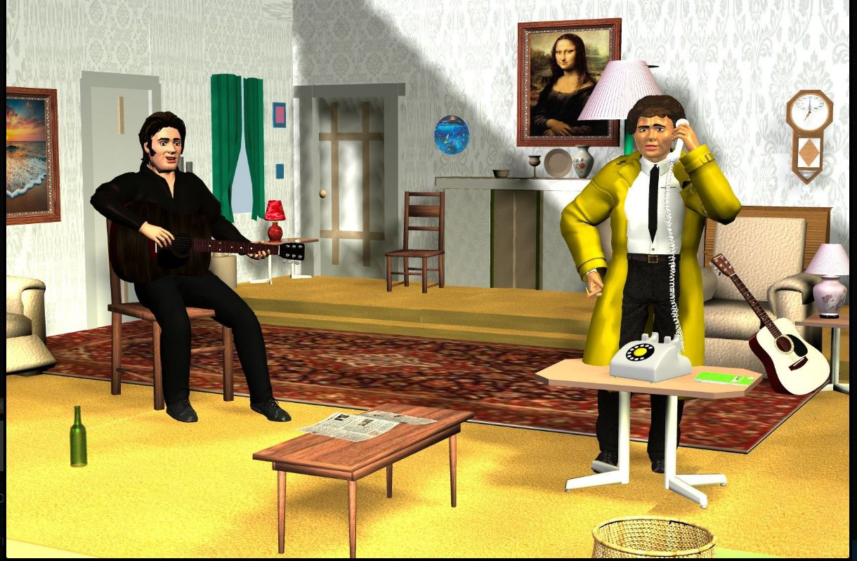 Columbo episode -Swan Song in Daz3d Other image