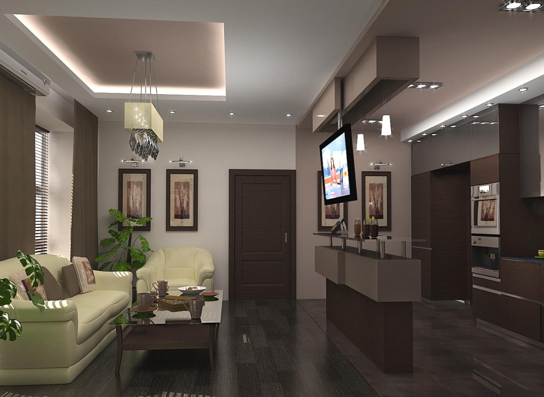 Комната отдыха в офисе 2 в 3d max vray изображение