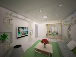 gentle living room
