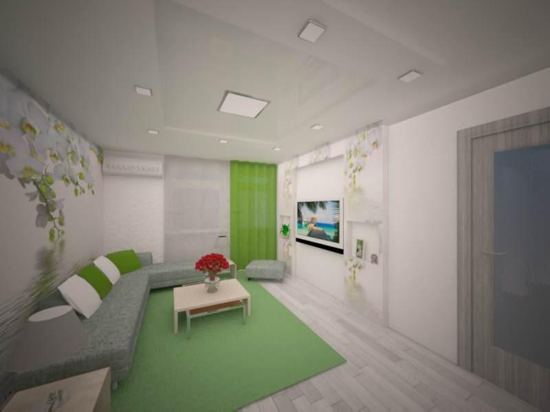 gentle living room in 3d max vray image