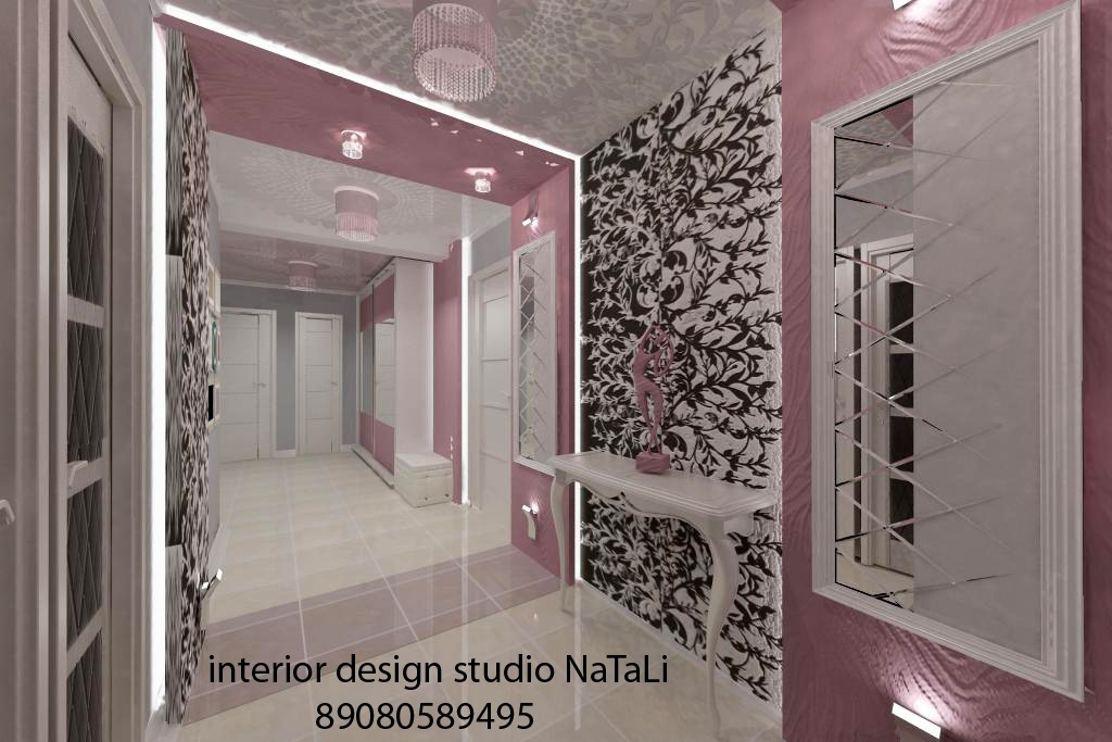 Interior design, 3D visualization in 3d max vray image