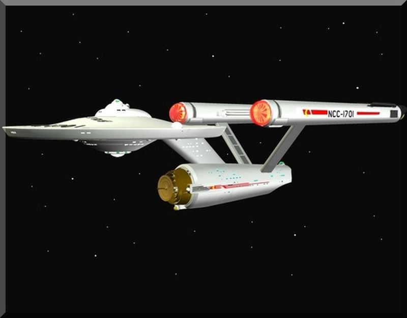 My USS Enterprise in Daz3d Other image